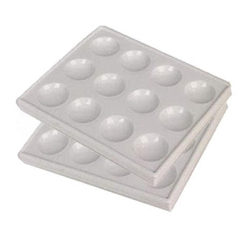 Spot Plates, Polystyrene, 12 Cavities, Pack of 2 (CA163/2)