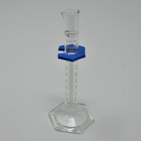 Dual Scale Glass Cylinder, 10ml, Class B, to Contain (US710/2)