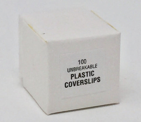 Rinzl Plastic Cover Slips, Box, Case, or Bulk, Made in USA (#2083US, 2085US) - Benz Microscope Optics Center