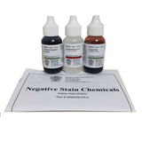 Negative Stain Kit, with Formalin-Nigrosin, Congo Red, Hydrochloric Acid (#BZ0055)