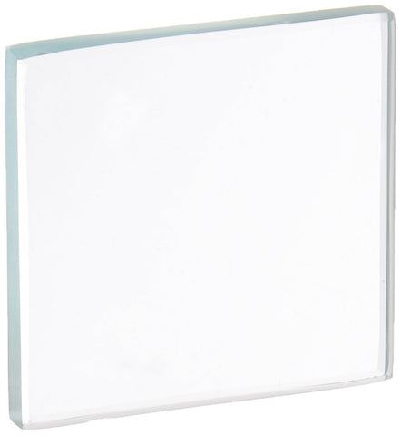 "Glass Streak Plate, 2"" Height X 2"" Width X 1/4"" Thick, Pack of 10 (#US214/10)"