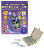 Celestron Prepared Slides with World of the Microscope Book (#44410B, 44411B, 44412B)