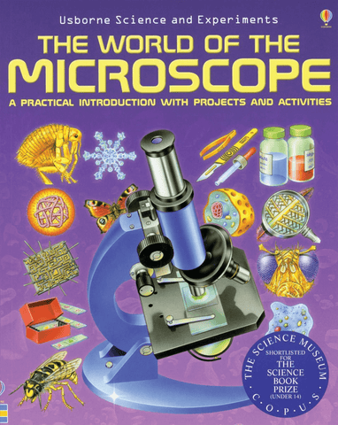 "Usborne Science and Experiments, ""The World of Microscope"" Book, 48 pp - Benz Microscope Optics Center"
