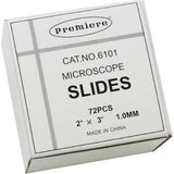 "Blank Slides: Plain, 3"" x 2"", Premiere Brand Glass Slides (#CA6101)"