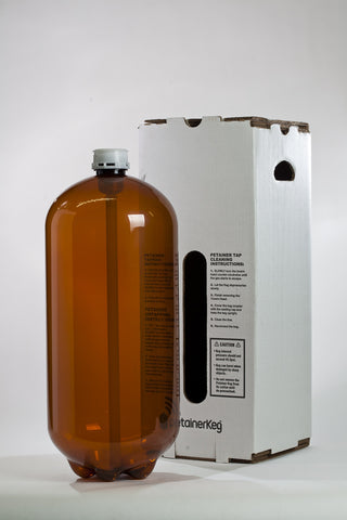 20 Litre plastic keg with the box