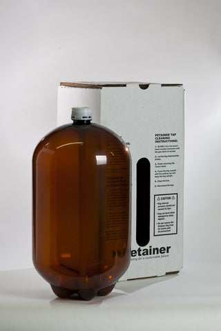 30 Litre plastic kegs with the box