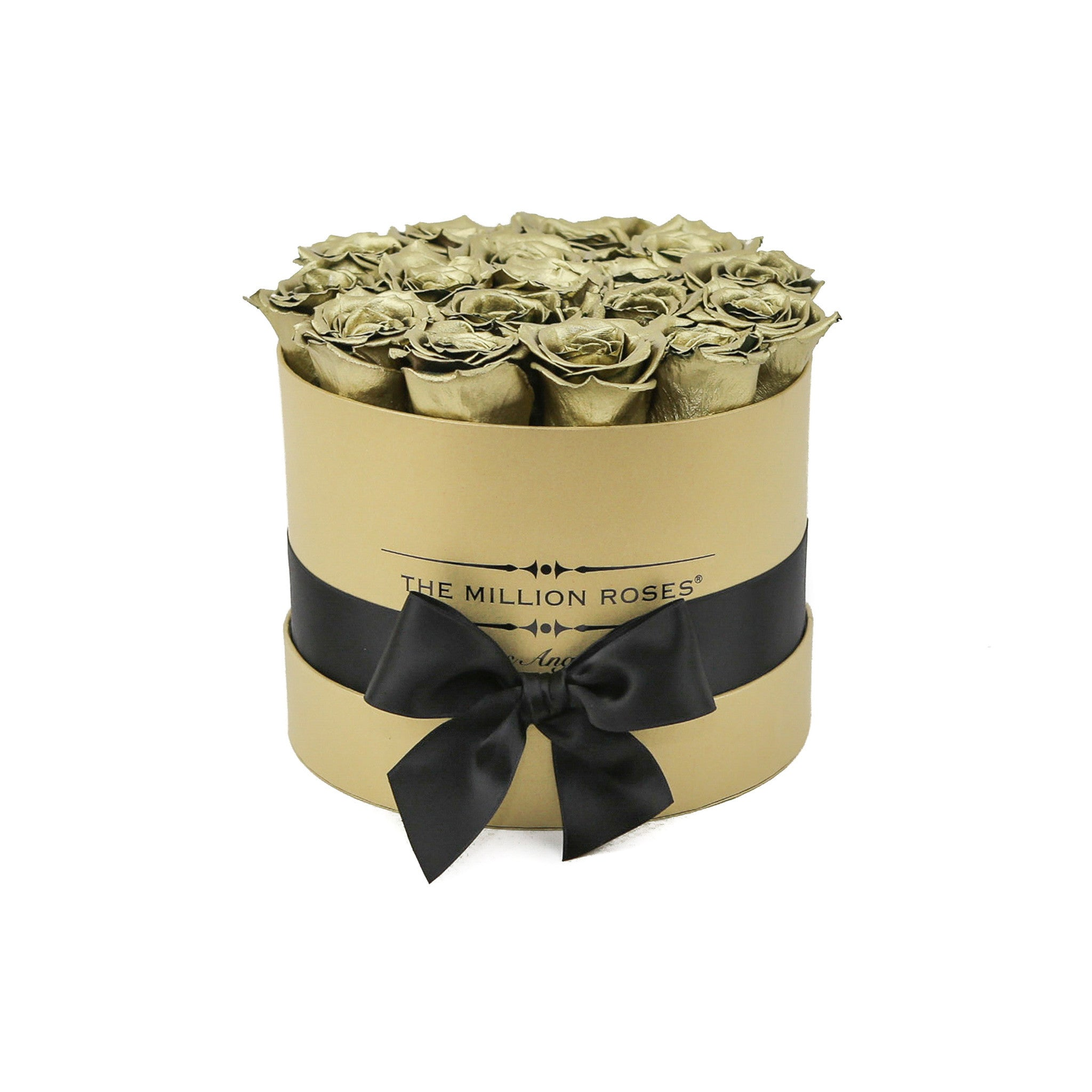 Small - Gold Roses - Gold Box