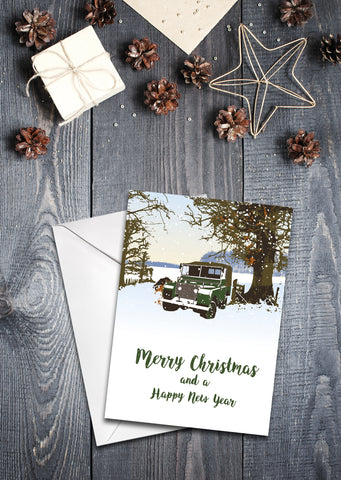 "80"" Series 1 Christmas cards - pack of 8"