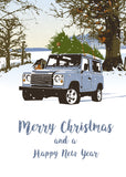 'Short Wheelbase Station Wagon' - Christmas cards