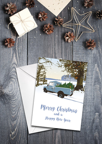 'Series One 107 ' Christmas Card - pack of 8