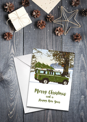 'Series 2 Station Wagon' - Christmas cards