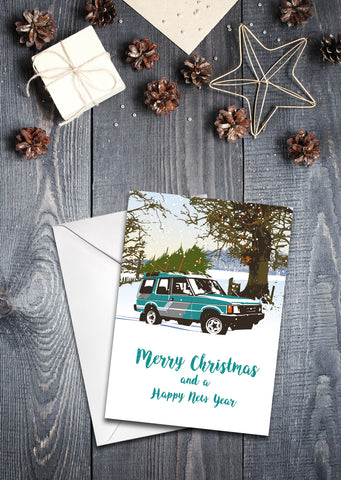 'Discovery' Christmas Card - pack of 8