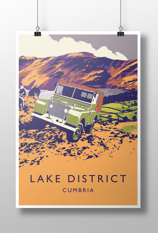 "Series 1 80"" 'Lake District' print"