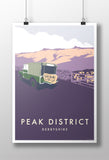 Land Rover Series 1 'Peak District' print