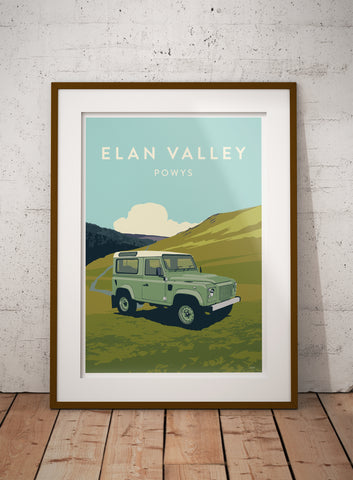 'Elan Valley, Powys' prints
