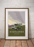 'Highlands' prints
