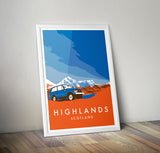 'Highlands' print 1971