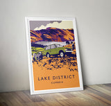 Range Rover Classic 'Lake District' print