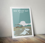 Series 2 'Red Wharf Bay' print