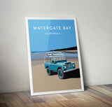 'Watergate Bay' prints