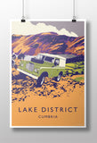 Series 3 'Lake District' print