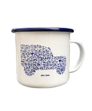 The 'Iconic Icon' Enamel Mug