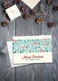 'Icons' Christmas cards - pack of 8