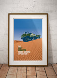 'Trans Sahara Expedition' 101 Print