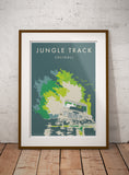 Jungle Track, Solihull Poster Print