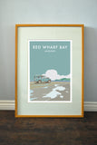 Land Rover Series 2 'Red Wharf Bay' print
