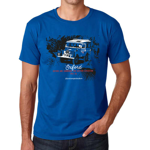 'Oxford' Far Eastern Expedition t-shirt - B&C Royal Blue
