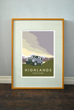 Land Rover Defender 110 'Highlands' print