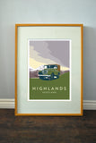Series 1 'Highlands' print