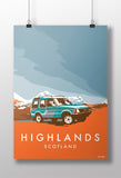 Disco 'Highlands' print