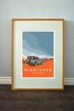 'Highlands' print