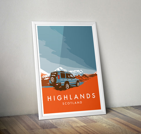 Discovery 'Highlands' print
