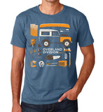 'Series Overland Division' Land Rover Series t-Shirt