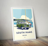 'South Hams, Devon' Prints