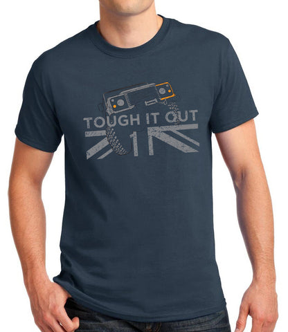 'Tough it Out' t-shirt - B&C Urban Navy