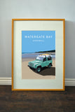 Defender 90 'Watergate Bay' print