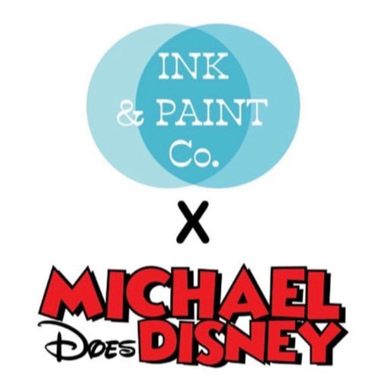 Michael Does Disney x Ink & Paint Co. Hanukkah Collaboration!
