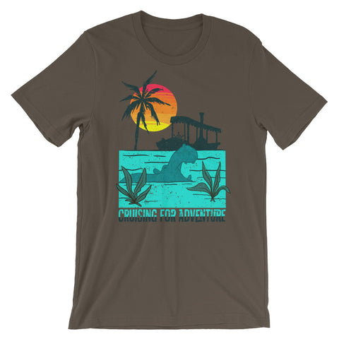 Cruising for Adventure unisex short sleeve t-shirt