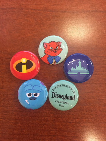 Pin Pack 4 (Disneyland Variant)