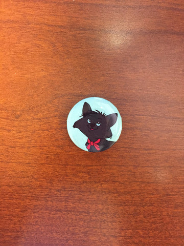 Berlioz (Aristocats) pin-back button