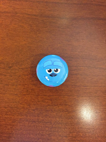 Sully pin-back button