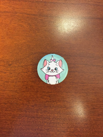 Marie (Aristocats) pin-back button