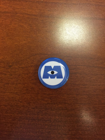 Monsters Inc. pin-back button