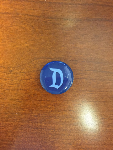 Signature D pin-back button