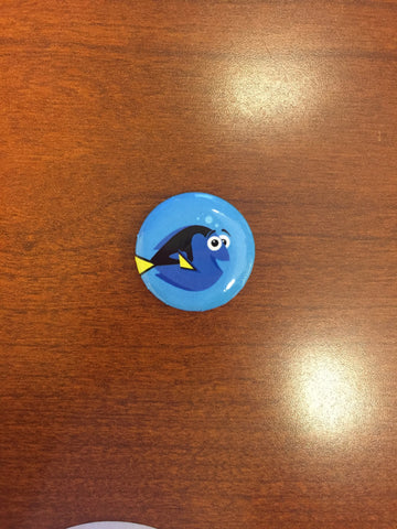Finding Dory pin-back button