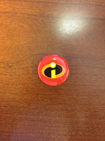 The Incredibles pin-back button